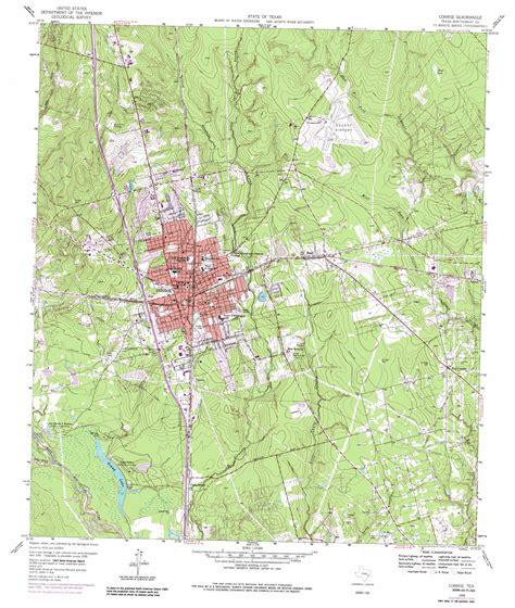 topo map texas conroe topographic map tx usgs topo 30095c4
