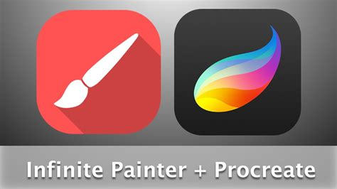 procreate for android using infinite painter and procreate to design a background