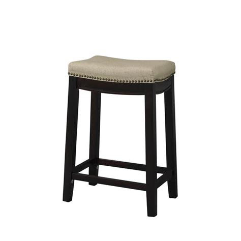 best bar stools linon allure fabric top counter stool overstock shopping