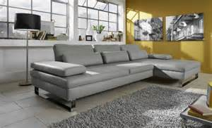 six beaux canap 233 s d angle en cuir gris