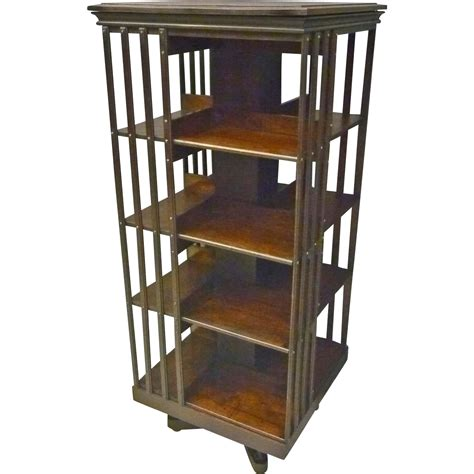 Decorative Bookcase Danner Revolving Bookcase From Antiquesonhanover On Ruby Lane