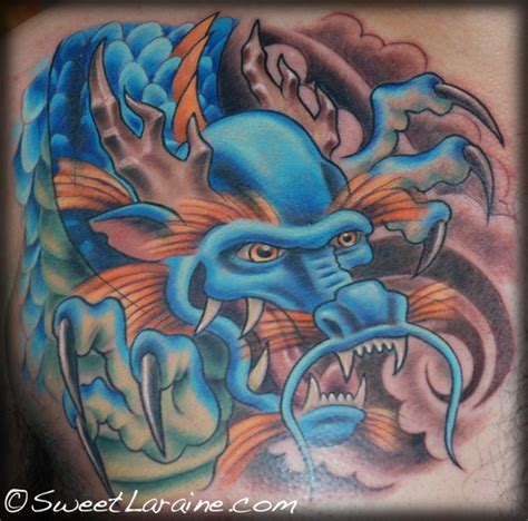 new school dragon tattoo large image leave comment