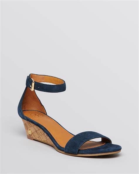 blue wedge sandals blue sandal wedges 28 images burch wedge sandals cork