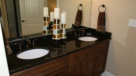black granite bathroom granite countertops