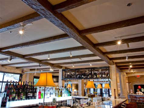 brio austin faux wood beams pairs with brio tuscan grille for its