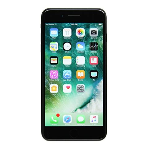 apple iphone 7 plus gsm unlocked 128gb black certified refurbished