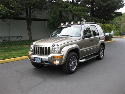 2002 Jeep Renegade 2002 Jeep Liberty Renegade 4wd 6cyl Sport Utility
