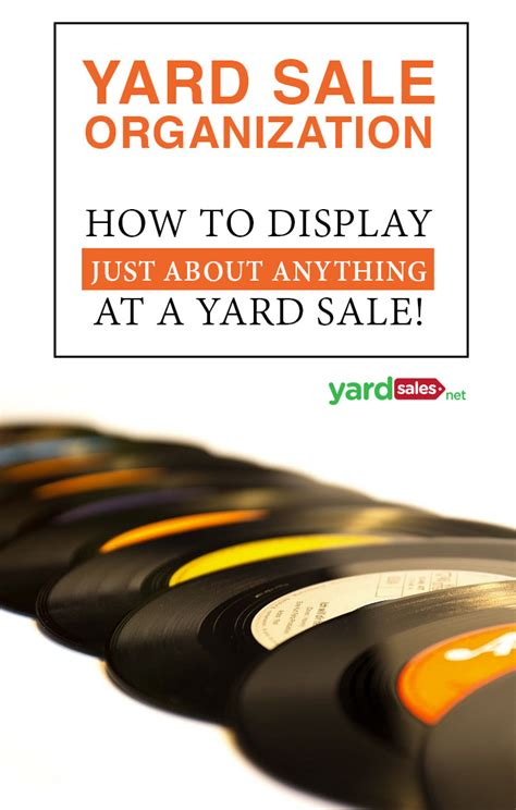 Garage Sales Net Yard Sale Organization How To Display Items To Get The