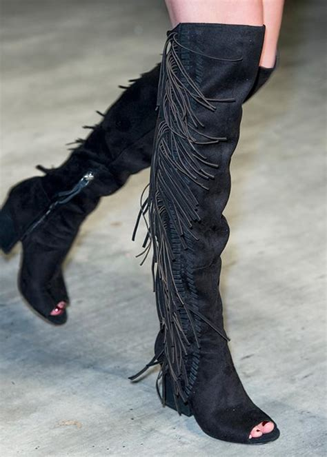 the thigh high boots for fall canada