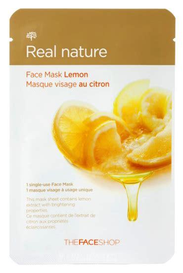 The Shop Real Nature Mask the shop real nature mask
