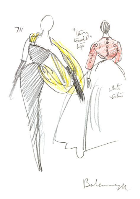 fashion illustration range balenciaga exhibition range v a shop