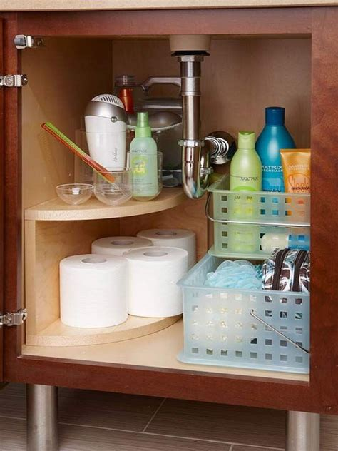 under sink bathroom organizer creative under sink storage ideas hative