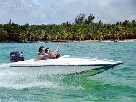 speed boat while pregnant bavaro splash speedboat ride iheartdr