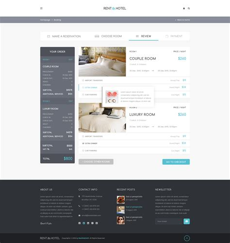 Rent A Hotel Hostel Guest House Booking Website Psd Template By Bestwebsoft Guest House Website Templates Free