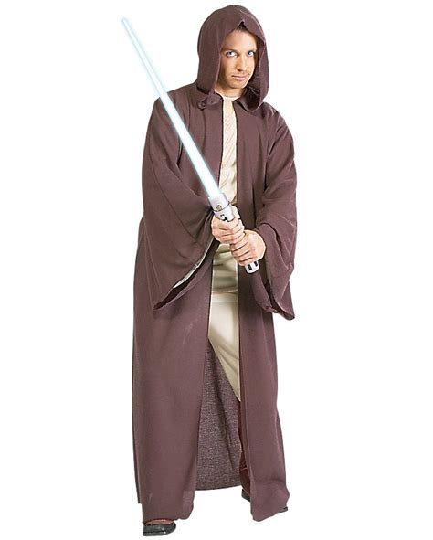 mens jedi robe c632 mens wars jedi basic robe fancy dress