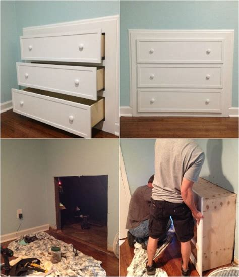 25 best ideas about slanted walls on pinterest rooms 7 beautifully functional diy built in dressers to utilize