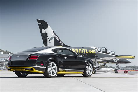 breitling bentley car breitling jet team themed bentley continental gt speeds