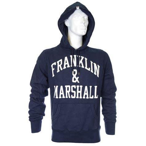 Hoodie Marshall Fightmerch franklin marshall arch embroidered navy hoodie franklin marshall from n22 menswear uk