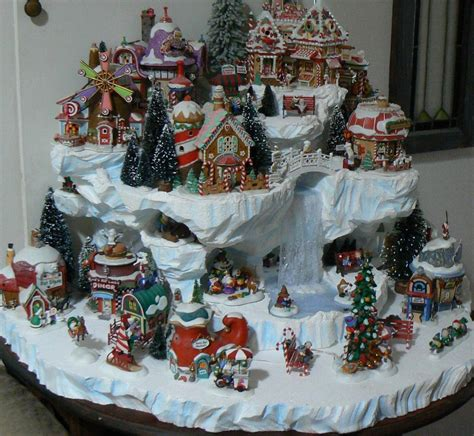 images of christmas village displays home design image ideas xmas village display ideas
