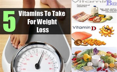 5 supplements to take 5 vitamins to take for weight loss best vitamins to lose