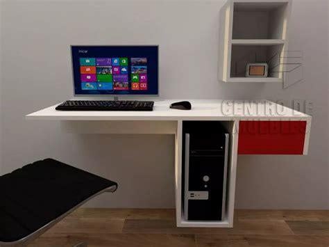 escritorios flotantes para pc escritorio flotante porta pc melamina 18mm escritorio