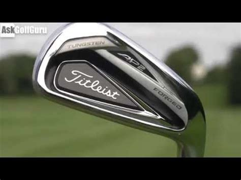 titleist ap2 irons tested by mid handicap golfer   doovi