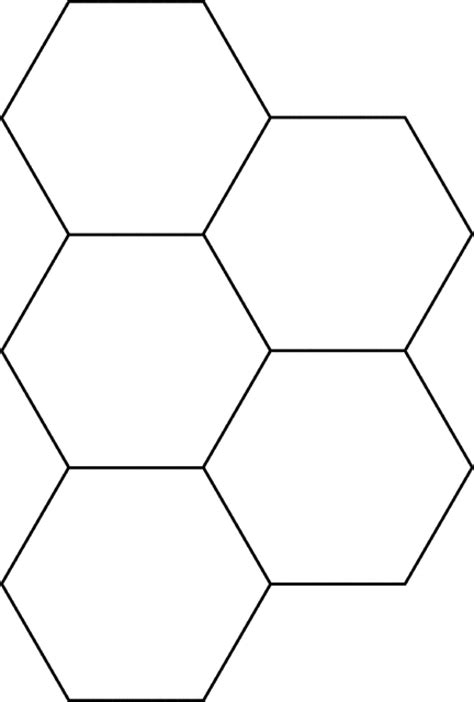 hexagon pattern name number names worksheets 187 images of hexagons free