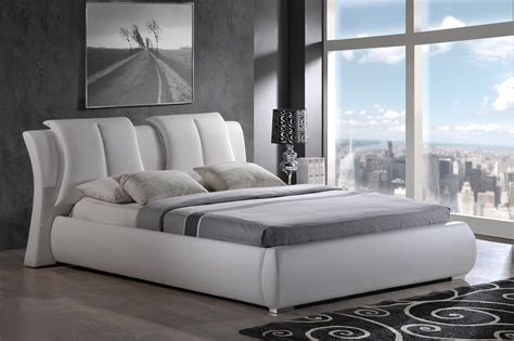 Platform Bed Luxury High Class Leather Luxury Platform Bed New York New York