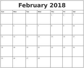 Calendar 2018 Printable Monthly March 2018 Calendar Maker