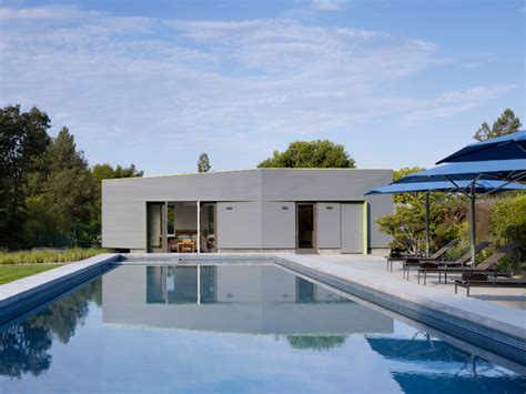 Pool House Cabana sonoma pool house contemporary pool san francisco