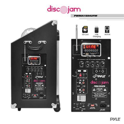 amazon com eclipse pro bomb rechargeable iphone mp3 amazon com pyle pwma1594ufm 600 watt bluetooth speaker