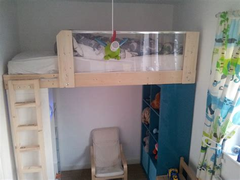 expedit loft bed ikea hackers ikea hackers