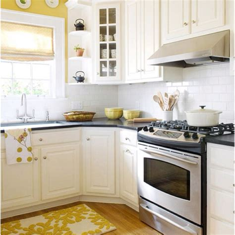 yellow kitchen white cabinets yellow walls white cabinets kitchen ideas pinterest