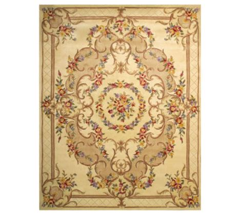Royal Palace Handmade Rugs - royal palace provence 8 x10 handmade wool rug qvc