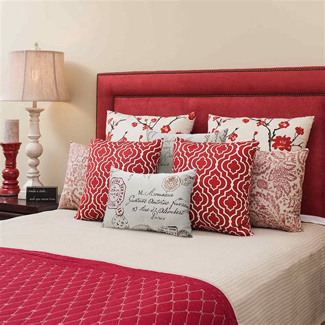 red throw pillows for bed outstanding red throw pillows for bed 68 inside home