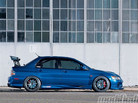 mitsubishi gsr modified 2006 mitsubishi lancer evolution gsr modified magazine