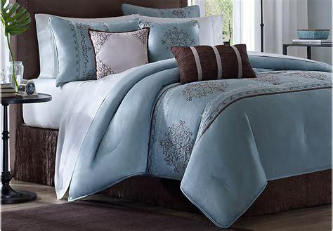 blue comforter sets queen amani blue 7 pc queen comforter set queen linens blue