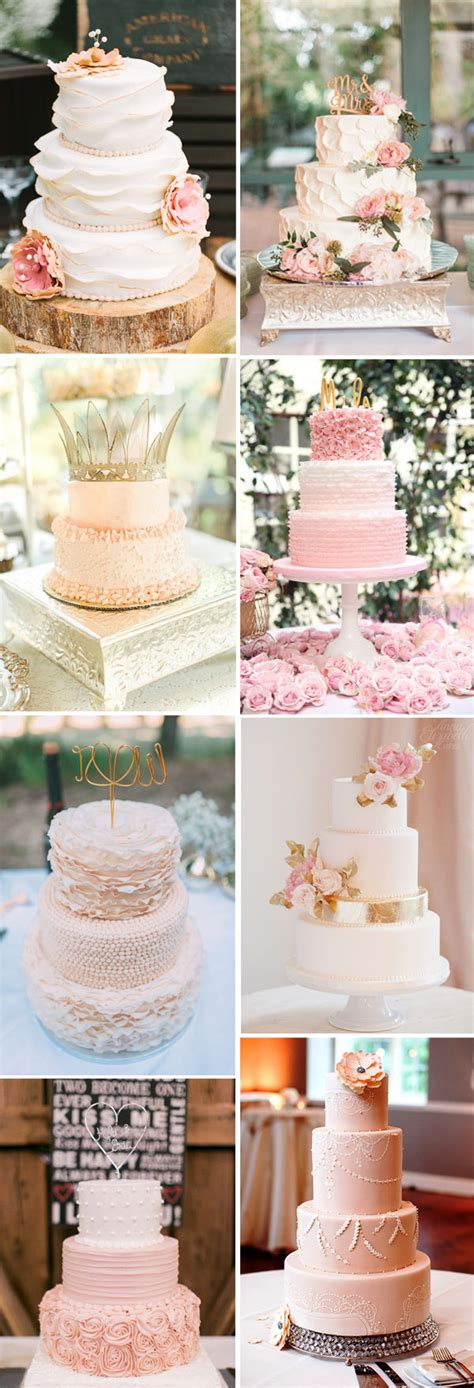 Wedding Cake Ideas by 28 Inspirational Pink Wedding Cake Ideas
