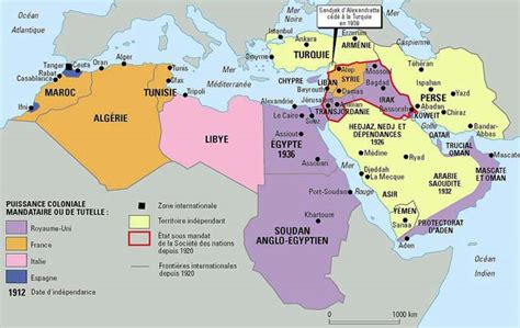 middle east map 1914 the middle east in 1939