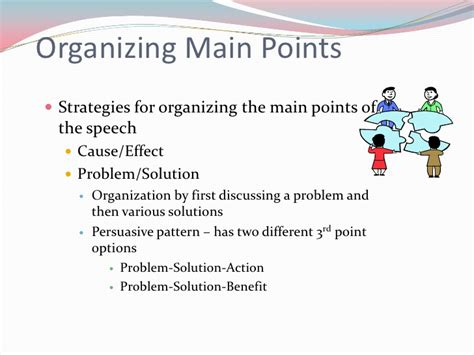exles of patterns of organization in reading organizational patterns for speeches