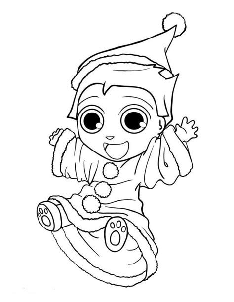 cute coloring pages of elves elf on the shelf coloring pages free christmas coloring
