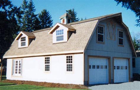 gambrel barn kit with garage apartment