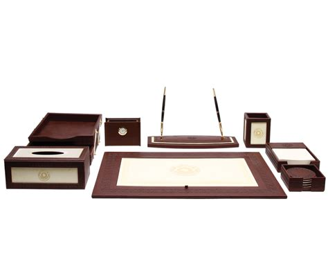 Luxury Desk Accessories Luxury Office Desk Accessories Desk Accessories Engraved Desktop Gifts Florentine Leather
