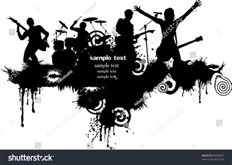 event layout vector abstract music background for music event design vector