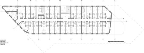 Inn Floor Plans gallery of day care and young workers hostel chartier