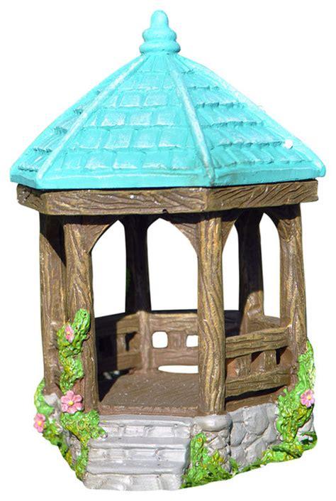 miniature gazebo miniature garden hexagon gazebo rustic