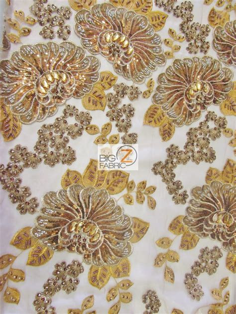 beading fabric sequins beaded gem mesh fabric sequins fabric