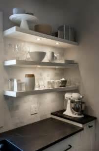 kitchen ikea lack open shelving