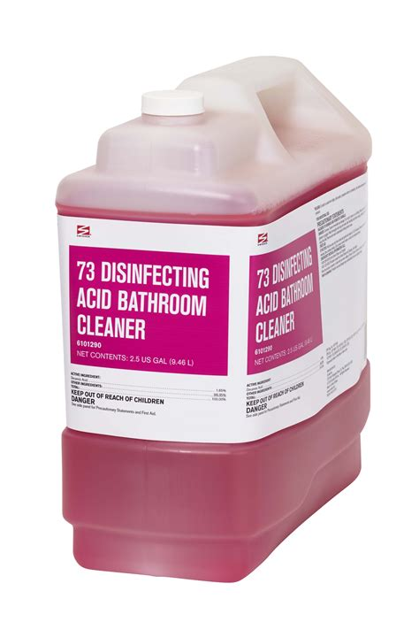 swisher bathroom supplies swisher 73 disinfecting acid bathroom cleaner