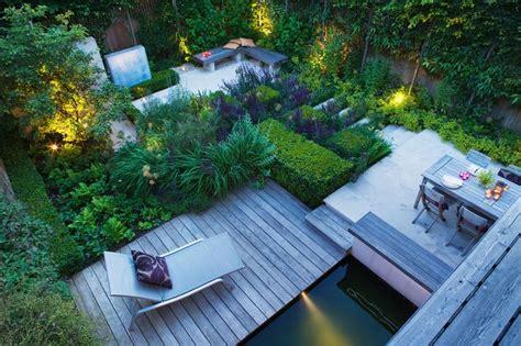 contemporary gardens images  pinterest